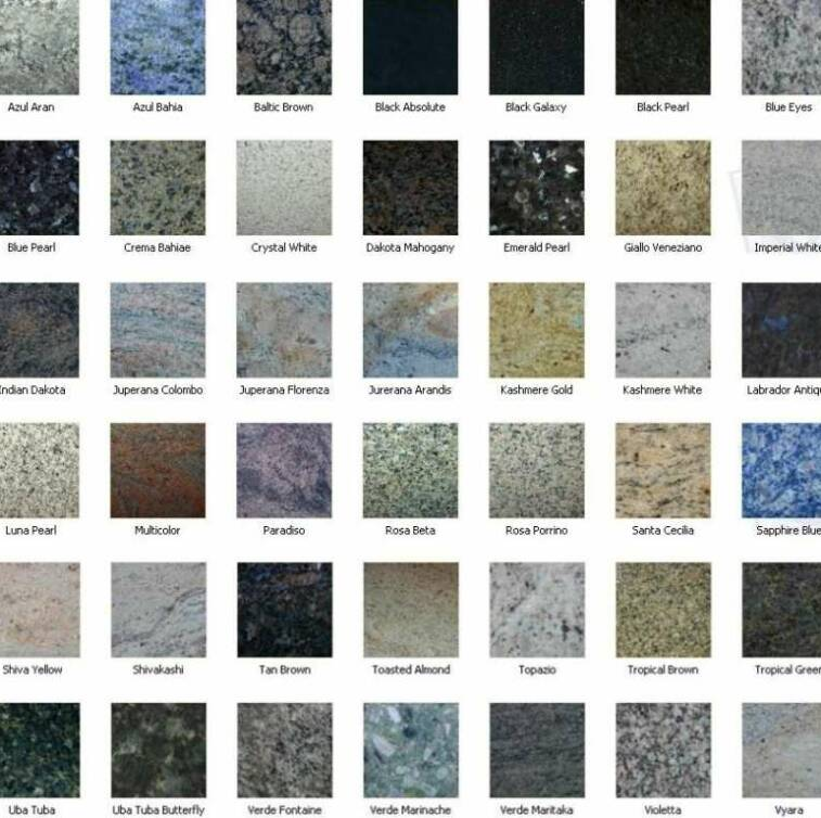 Pictures of Granite Countertops Color Samples - #rock-cafe