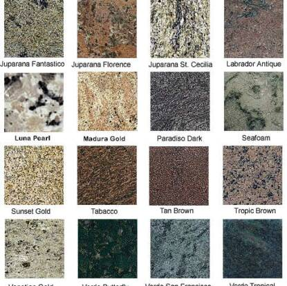 Image Result For Granite Countertops Sample Pictures