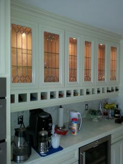 modern kitchen wall cabinets